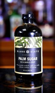Blank Slate - Palm Rich Simple Syrup