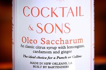 Cocktail & Son's Oleo Saccharum